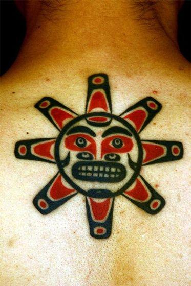 刺青作品「HAIDA TRIBAL」