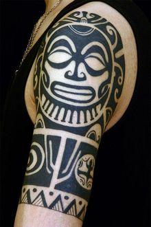 刺青作品 Tribal「タヒチトライバル」