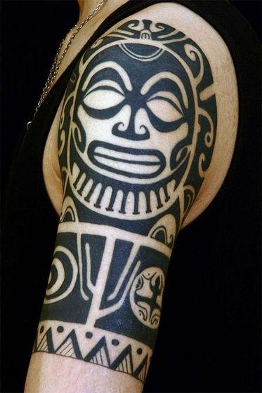 刺青作品「TAHITI TRIBAL」