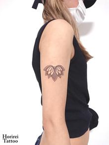 刺青作品 Tattoo 「蓮」