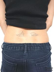 刺青作品 Tattoo 「翼」