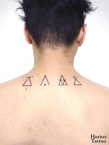 刺青作品 Tattoo 「グラフタトゥー」